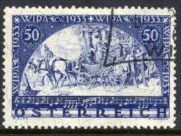AUSTRIA 1933 WIPA Philatelic Exhibition On Granite Paper, Fine Used.   Michel 556 - 1918-1945 1st Republic