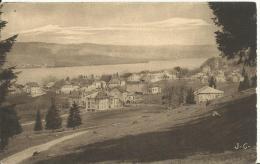 MALBUISSON.  Le Lac. Au Fond St6Point Et Les Grangettes - Otros Municipios