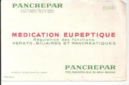 Buvard Pharmacie PANCREPAR Médicament EUPEPTIQUE - Droguerías