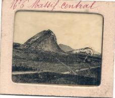 -Ancetre De La Diapositive - Pour Lanterne 1890 / 1920 Le Massif Central, Les Puys  école éducation - Fotos