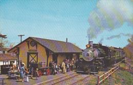 Black River & Western Railroad Flemington Rongoes Depot New Jersey - Stazioni Con Treni
