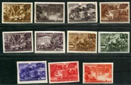 Russia 1947 Mi 1168-1178 B MNH OG - 1923-1991 URSS