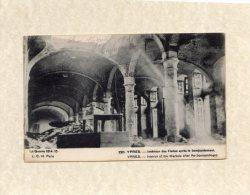 44363    Belgio,    Ypres -  Interieur  Des  Halles  Apres  Le  Bombardament -  Guerre  1914-15,  NV(scritta) - Ieper