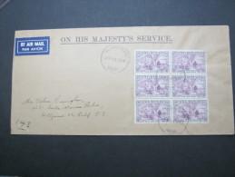 NEUFUNDLAND, Brief Mit 6  Marken 1947 - Briefmarken