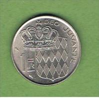 MONACO -  1 Franc  1960   KM140 - Mónaco