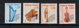 FRANCE- Y&T- Préoblitérés N°202 à 205- Neufs Sans Charnière - Preobliterati