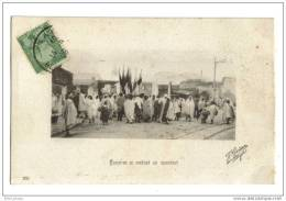 Tunisiens Se Rendant Au Marabout - Tunisie