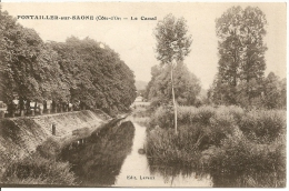Pontailler-sur-Saône -  Le Canal - Frankreich
