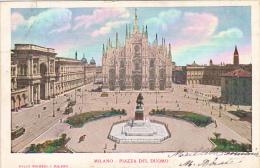 Italy Milano Piazza del Duomo 1903