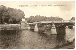Pontailler-sur-Saône - Pont Sur La Saône, Entrée Du Village - Frankreich
