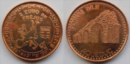 2 Euro Temporaire Precurseur FREJUS  1997, RRRR, BR, Nr. 314, Only 1200 Ex. - Euro Der Städte