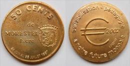 0,5 Euro Temporaire Precurseur MORESTEL  1997, RRRR, CU, Nr. 455, Only 1200 Ex. - Euro Der Städte