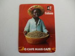 Drink Torrefaction Coffee/Café/Caffe Cubano Portuguese Pocket Calendar 1991 - Calendari