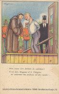 C-1112- Illustratore Cussino Umoristica Pubblicitaria Magnesia S. Pellegrino - F.p. Non Vg. - Pubblicitari