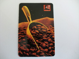 Drink Torrefaction Coffee/Café/Caffe Cubano Portuguese Pocket Calendar 1998 - Calendari