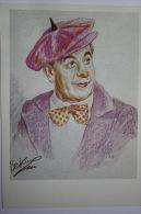 SOVIET CIRCUS. 1989. Clown VEKSHIN - Cirque