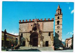 M815 Teramo - Cattedrale - Auto Cars Voitures / Viaggiata 1978 - Teramo