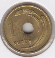 @Y@   Turkije   1 Kurus  1951   Pr   (2524) - Turquia