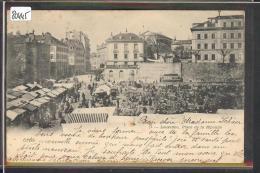 LAUSANNE - PLACE DE LA RIPONNE - LE MARCHE - TB - VD Vaud