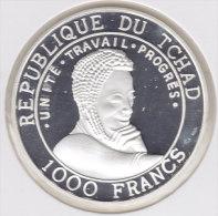 @Y@   TSJAAD  / TCHAD   1000 Francs  2001  Proof   (2514 ) - Chad