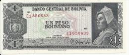 BOLIVIE 1 PESO  BOLIVIANO  L.1962  AUNC P 158 - Bolivia