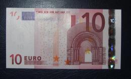 10 EURO K007E4 Ireland Draghi Serie T  Perfect UNC - EURO