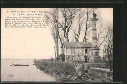 CPA Le Val De La Haye, Monument Commemoratif, Colonne Dorique Surmontee D'un Aigle - Zonder Classificatie