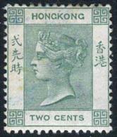 Hong Kong #37 Mint Hinged 2c Green Victoria From 1900 - Hong Kong (...-1997)