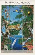 NICARAGUA  Protection De La Faune  2247U 2247AC** - Timbres
