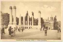 EXPOSITION DE BRUXELLES 1935   OHL - Exposiciones Universales