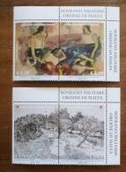 SMOM 2012 - IL DISEGNO NELL'ARTE -  COMPLETE SET,MNH** - Malte (Ordre De)