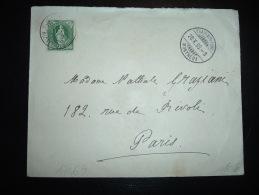 LETTRE POUR LA FRANCE TP 25 OBL. 28 X 95 TRAIT-BON-PORT MONTREUX - Briefe U. Dokumente