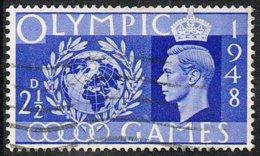 GB SG495 1948 Olympics 2½d. Good/fine Used - 1902-1951 (Kings)