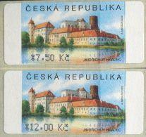 CZ1879 Czech Republic 2005 E-Stamp Castle 2v MNH - Neufs
