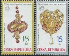 CZ1896 Czech Republic 2006 Pendant 2v MNH - Neufs