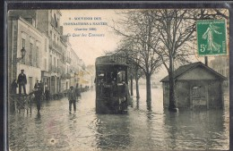 NANTES . Inondations , Le Quai Des Tanneurs . - Nantes
