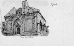 [DC7380] RIMINI - TEMPIO MALATESTIANO - Old Postcard - Rimini