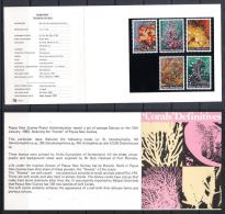 Papua New Guinea 1983 Corals Definitives Stamp Pack - Papouasie-Nouvelle-Guinée