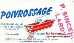 BUVARD BUVARDS POIVROSSAGE PANTIN AVENUE EDOUARD VAILLANT LARDY - Alimentaire