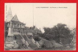 CPA: Cambodge - Le Pnom à Pnom-Penh (Fievet N°135) - Kambodscha