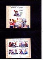 H Dunant-Croix Rouge-Anniversaire-Mozamb Ique-2010-Bloc Et Feuillet Officiel***MNH-NON Dentelé-Petit Tirage