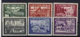 Deutsches Reich Michel No. 773 - 778 ** postfrisch