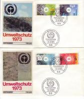FDC 774 - 77  Umwelschutz1973, Bonn1 - [7] Federal Republic