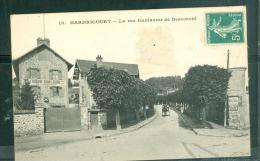 HARDRICOURT - La Rue Guillaume De Beaumont   Dac 136 - Hardricourt