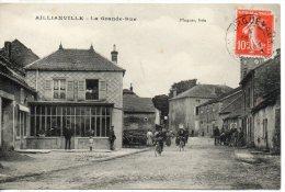 52. Aillianville. La Grande Rue - France