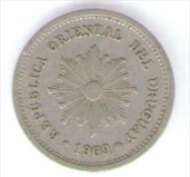 URUGUAY 1 CENTESIMO 1909 - Uruguay