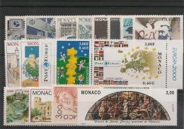 MONACO  Années 1991/2001 EUROPA   ** Côte: 28,60 € - Collections, Lots & Series