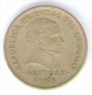 URUGUAY 1 PESO 1968 - Uruguay