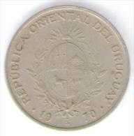 URUGUAY 20 PESOS 1970 - Uruguay