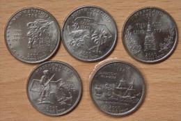 AMÉRIQUE 5 * Quart De Dollar USA 2000 - Monnaies